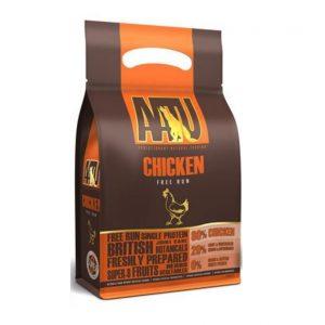 AATU 80/20 Dog Chicken begrūdis maistas su 80% vištienos, 10kg