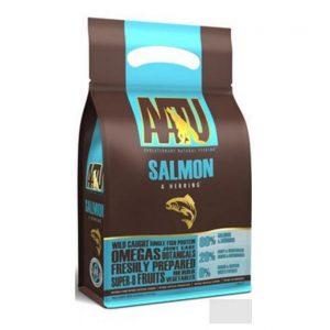 AATU 80/20 Dog Salmon begrūdis maistas su 80% žuvies, 10kg