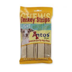 Antos Jerkey Strips Light juostelės su vištiena ir omega 6