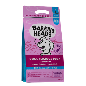 BARKING HEADS DOGGYLICIOUS DUCK Small Breed