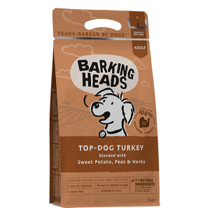 BARKING HEADS TOP DOG TURKEY GRAIN FREE