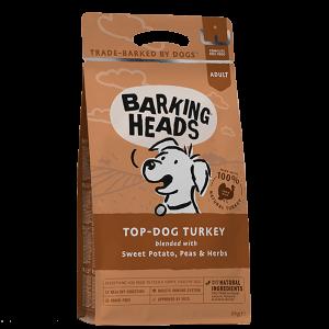 BARKING HEADS TOP DOG TURKEY GRAIN FREE