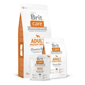 Brit Care Adult Medium Breed Lamb&Rice sausas maistas šunims