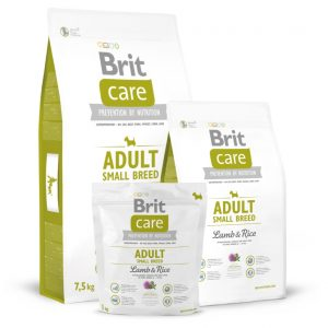Brit Care Adult Small Breed Lamb&Rice sausas maistas šunims