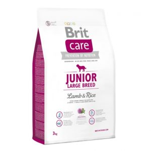Brit Care Junior Large Breed Lamb&Rice sausas maistas šunims