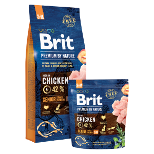 BRIT PREMIUM By Nature Senior S/M