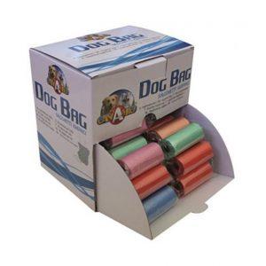 Higieniniai maišiukai šunims MIX įvairių spalvų