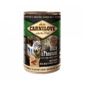 Carnilove konservai šunims Wild Meat Duck&Pheasant 400g