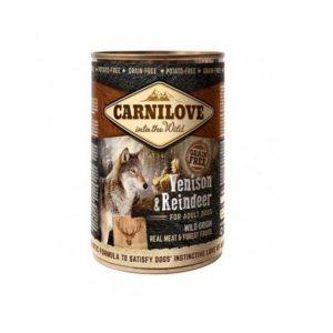 CARNI LOVE konservai šunims Wild Meat Venison&Reindeer 400g