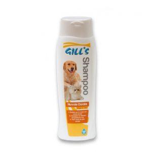 GILL'S ŠAMPŪNAS auksaspalviams šunims ir katėms 200ml