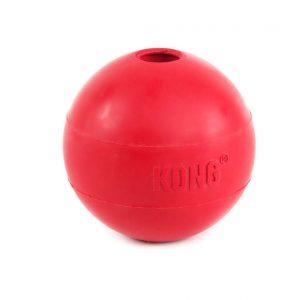 KONG ball žaislas raudonas