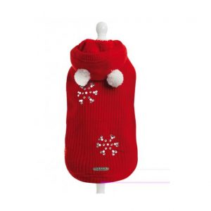 Megztinis LOVEY-DOVEY RED vilna/kašmyras