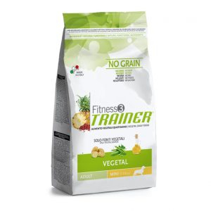 Trainer Fitness Adult Mini No Grain VEGETAL (Vegetariškas)