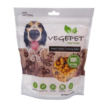 Vegepet sweet potato training balls granules dresurai