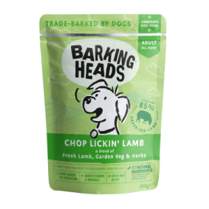 BARKING HEADS konservai Chop Lickin' Lamb 300g