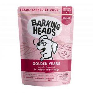 BARKING HEADS konservai Golden Years senjorams 300g