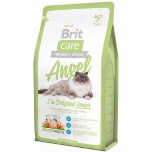 Brit Care Cat Angel I´m Delighted Senior sausas maistas katėms