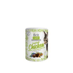 Brit Care skanėstas katėms su vištiena 100g