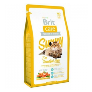 Brit Care Cat Sunny I've Beautiful Hair sausas maistas katėms