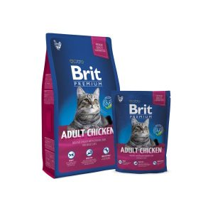Brit Premium Cat Adult Chicken sausas maistas katėms