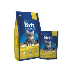 Brit Premium Cat Adult Salmon sausas maistas katėms