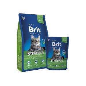 Brit Premium Cat Sterilized sausas maistas katėms