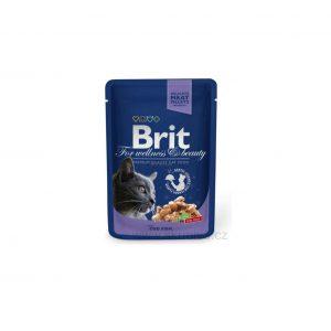Brit Premium konservai katėms maiš. Cod Fish 100g
