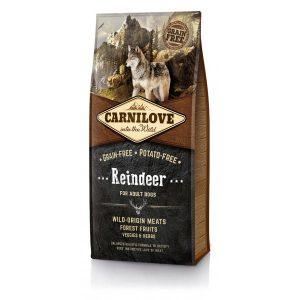 CARNI LOVE Reindeer Adult sausas maistas šunims