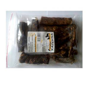 Džiovinti buivolų plaučių gabaliukai 100g