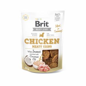 Brit Jerky Chicken Meaty Coins skanėstas 80g