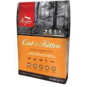 ORIJEN Cat&Kitten begrūdis maistas katėms, 1.8kg