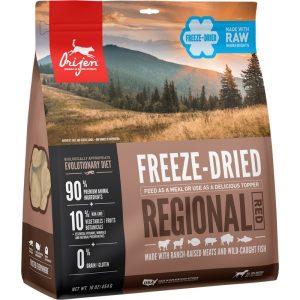 ORIJEN FD Regional Red išdžiovintas šaltyje begrūdis maistas