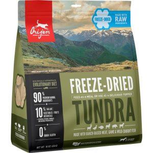 ORIJEN FD Tundra išdžiovintas šaltyje begrūdis maistas