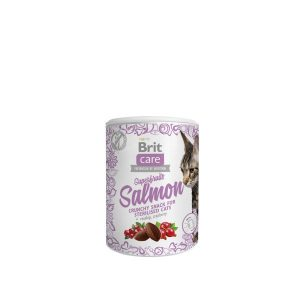 Brit Care skanėstas katėms superfruits Salmon 100g