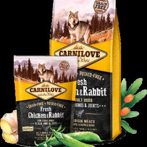 CARNILOVE Fresh Chicken&Rabbit Adult