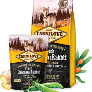 CARNI LOVE Fresh Chicken&Rabbit Adult