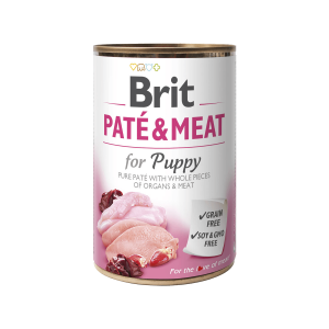 BRIT CARE Chicken&Turkey for Puppy Pate & Meat