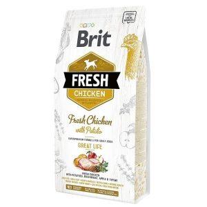 Brit Fresh Chicken Potato Adult