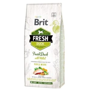Brit Fresh Duck Millet Active Run&Work