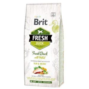 Brit Fresh Duck Millet Active Run&Work