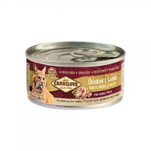 Carni Love konservai katėms Chicken&Lamb