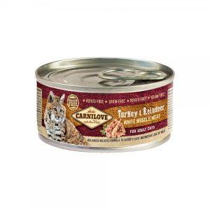 Carni Love konservai katėms Turkey&Reindeer