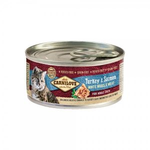 Carni Love konservai katėms Turkey&Salmon