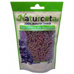 NATURCOTA skanėstas katėms Menkės granulės, 65g