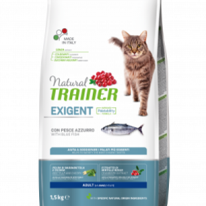 Trainer Natural CAT Exigent Blue Fish SU melsvąja žuvimi