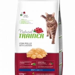 TRAINER NATURAL CAT ADULT CHICKEN VIŠTIENA