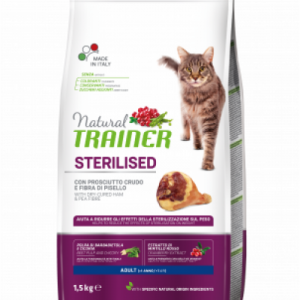 TRAINER NATURAL CAT ADULT STERILIZUOTOM SU VYTINTU KUMPIU