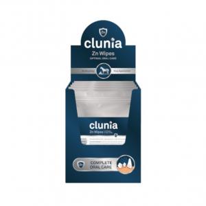 CLUNIA ZnWipes – Dantų valymo servetėlės