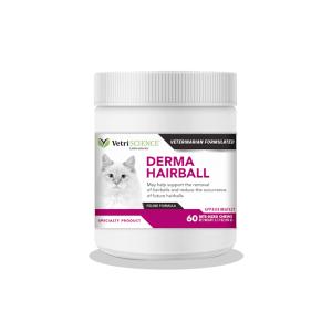 Derma Hairball – papildas katėms – nuo sąvėlų