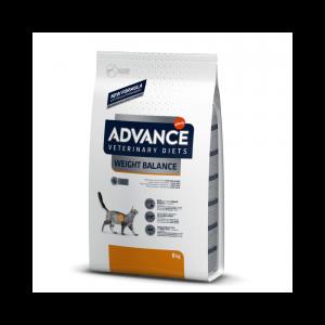 "ADVANCE VETERINARY DIETS ""Weight Balance"" kačių maistas svorio reguliavimui"